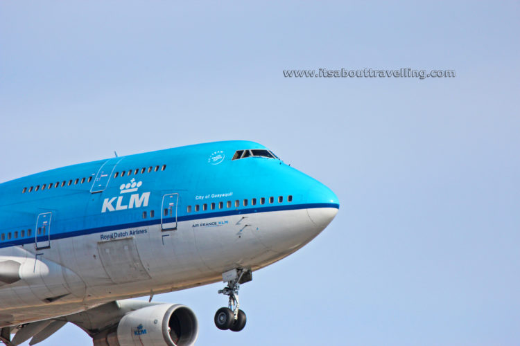 ph-bfg klm royal dutch airlines boeing 747-400