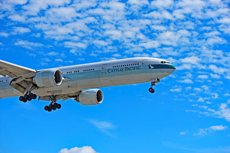 b-kqb cathay pacific boeing 777-300er yyz toronto