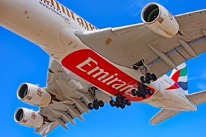 a6-eet emirates airlines airbus a380-800 toronto yyz