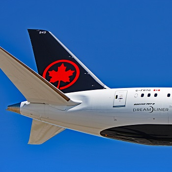 air canada tail logo