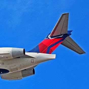 delta airlines tail logo