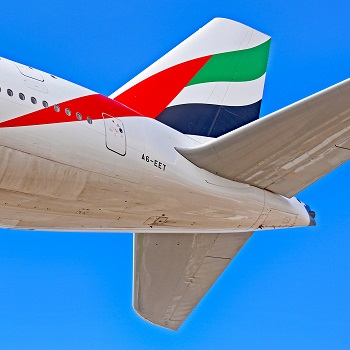 emirates airlines tail logo