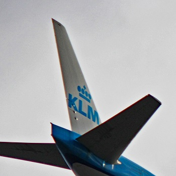 klm royal dutch airlines tail logo
