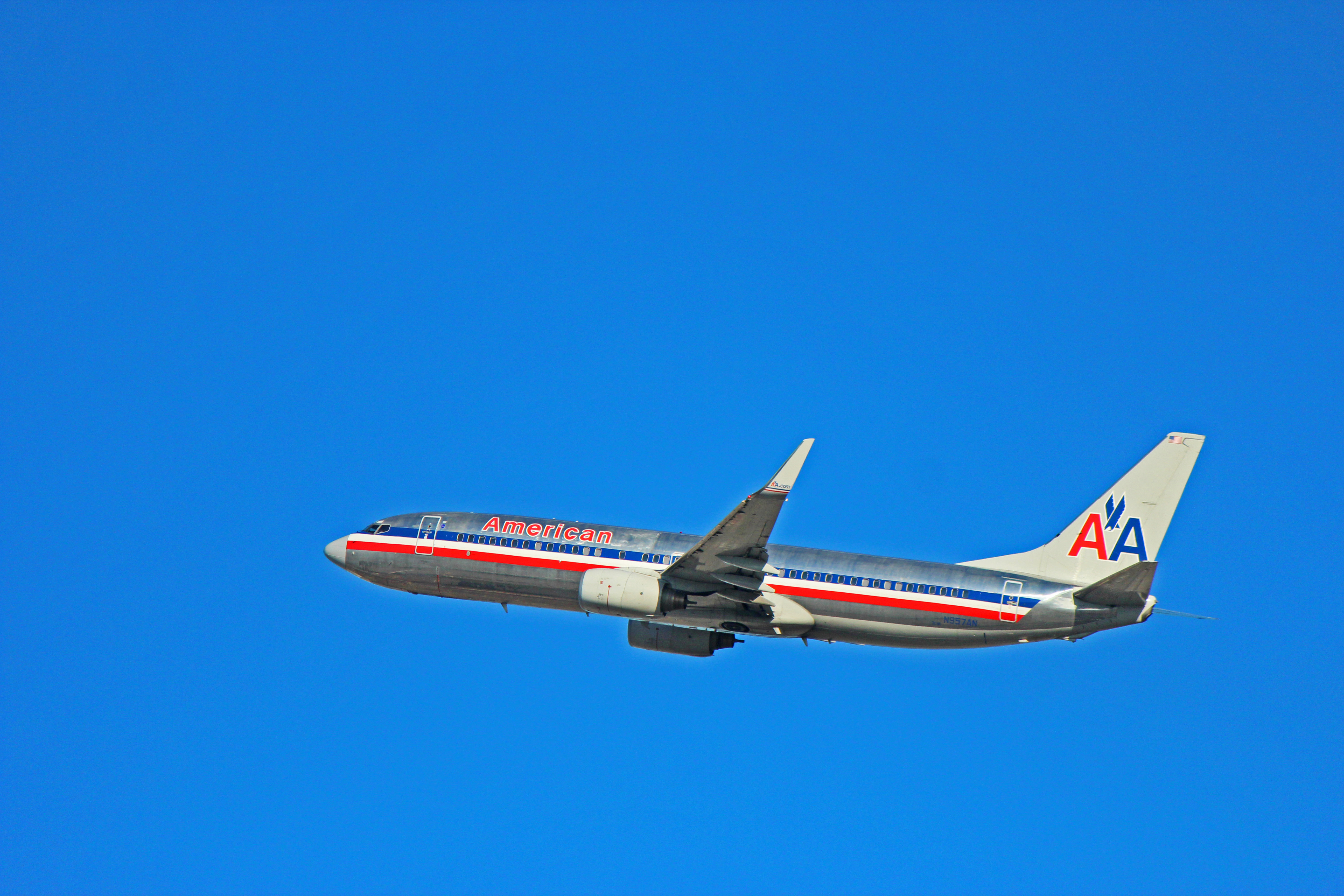 N957an American Airlines Boeing 737 800 In Older Livery