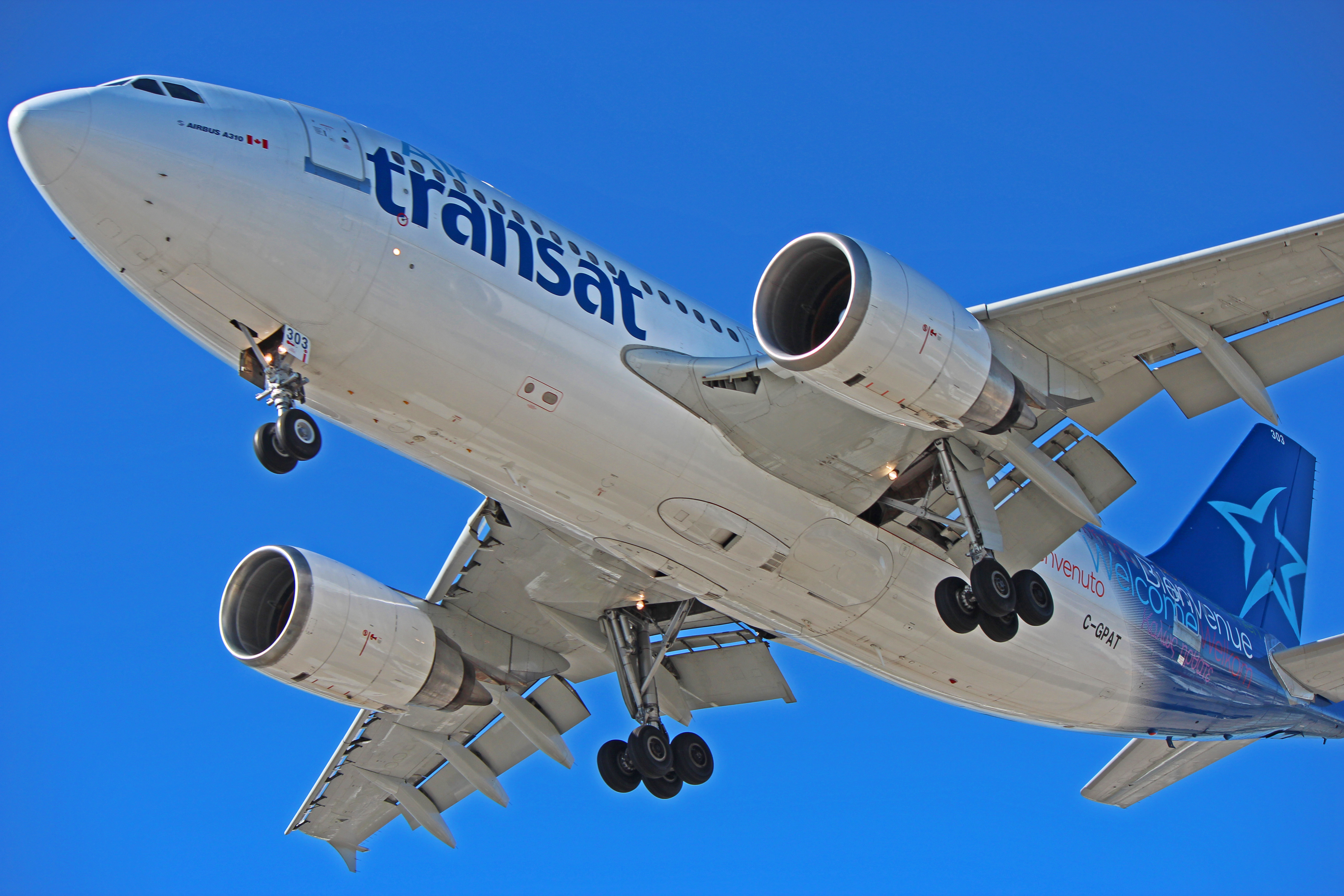 C Gpat Air Transat Airbus A310 The Infamous 2005 Rudder Incident
