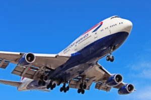 g-bnlo british airways boeing 747-400 toronto yyz