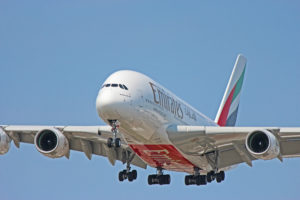 a6-eul emirates airlines airbus a380-800 toronto yyz
