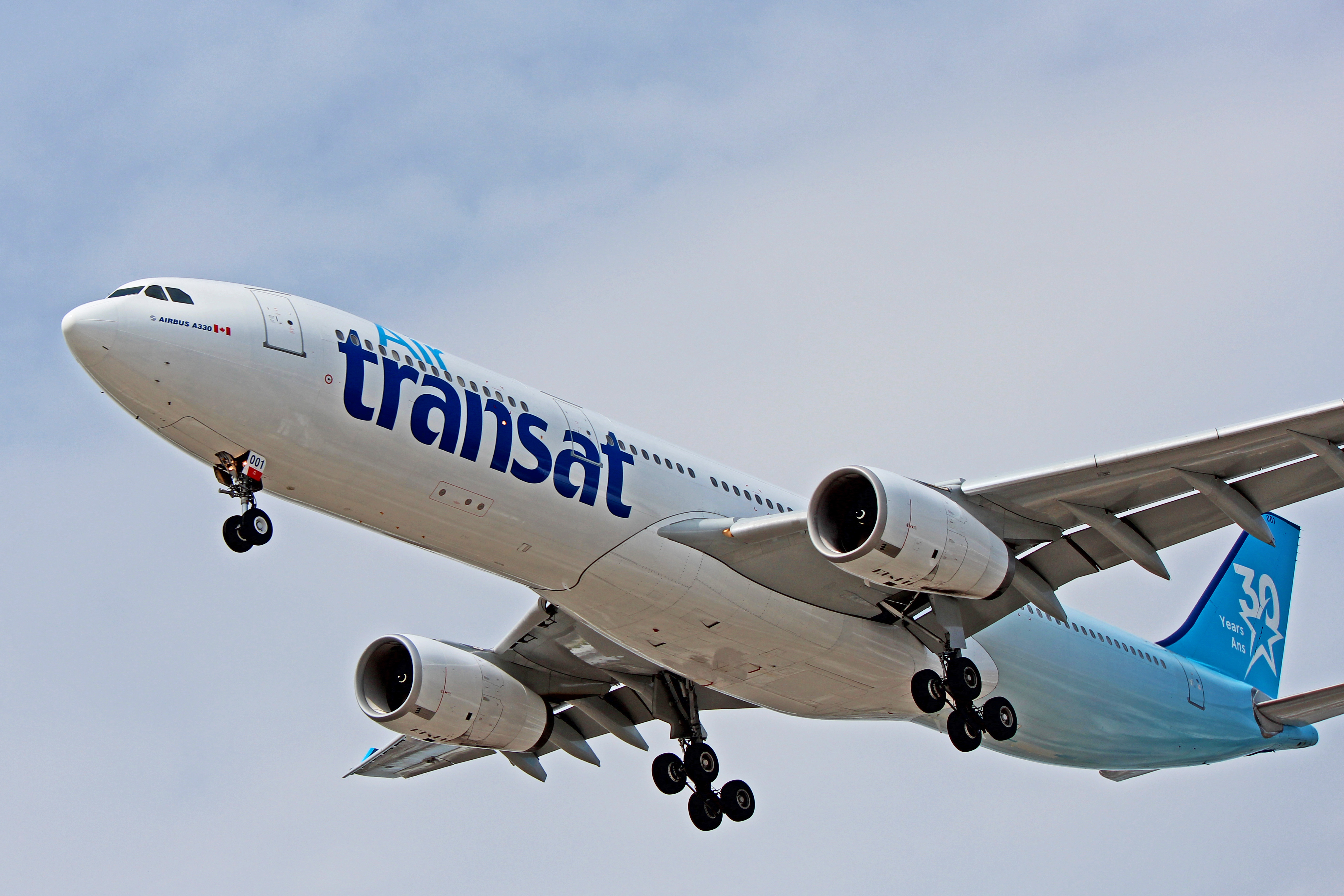 C-GKTS: Air Transat Airbus A330-300 (With 30 Year