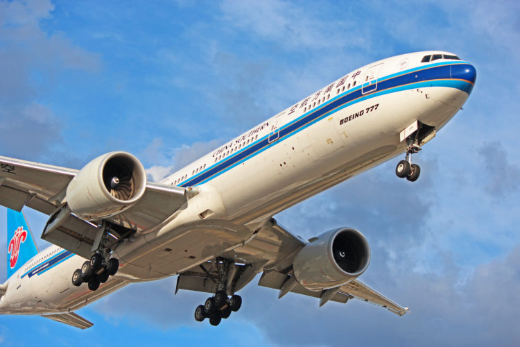 b-2099 china southern airlines boeing 777-300er toronto yyz