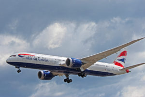 g-zbkl british airways boeing 787-9 dreamliner toronto yyz