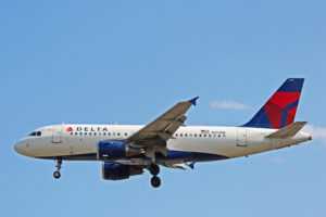 n301nb delta air lines airbus a319-100 toronto yyz