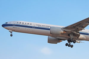 b-2029 china southern airlines boeing 777-300er toronto yyz
