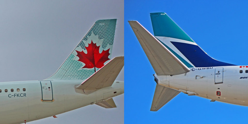 comparing tail bases airbus a320 boeing 737