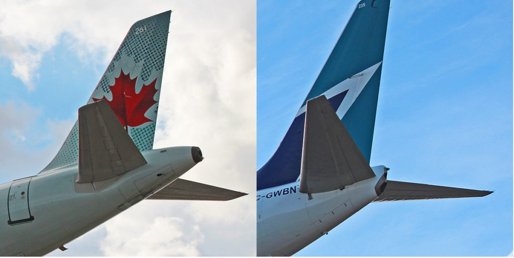 tail exhaust comparison airbus a320 boeing 737