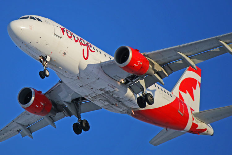 c-fykw air canada rouge airbus a319-100 toronto pearson yyz