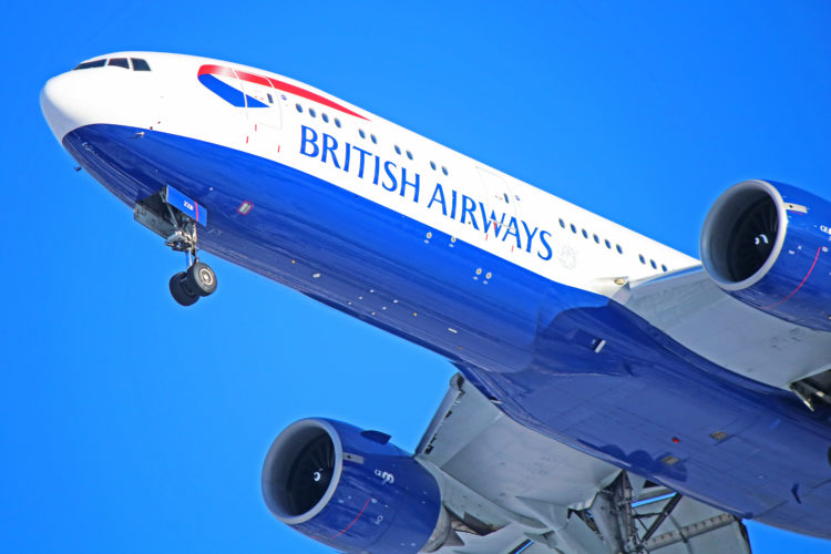 g-zzzb british airways boeing 777-200 b772 toronto pearson yyz
