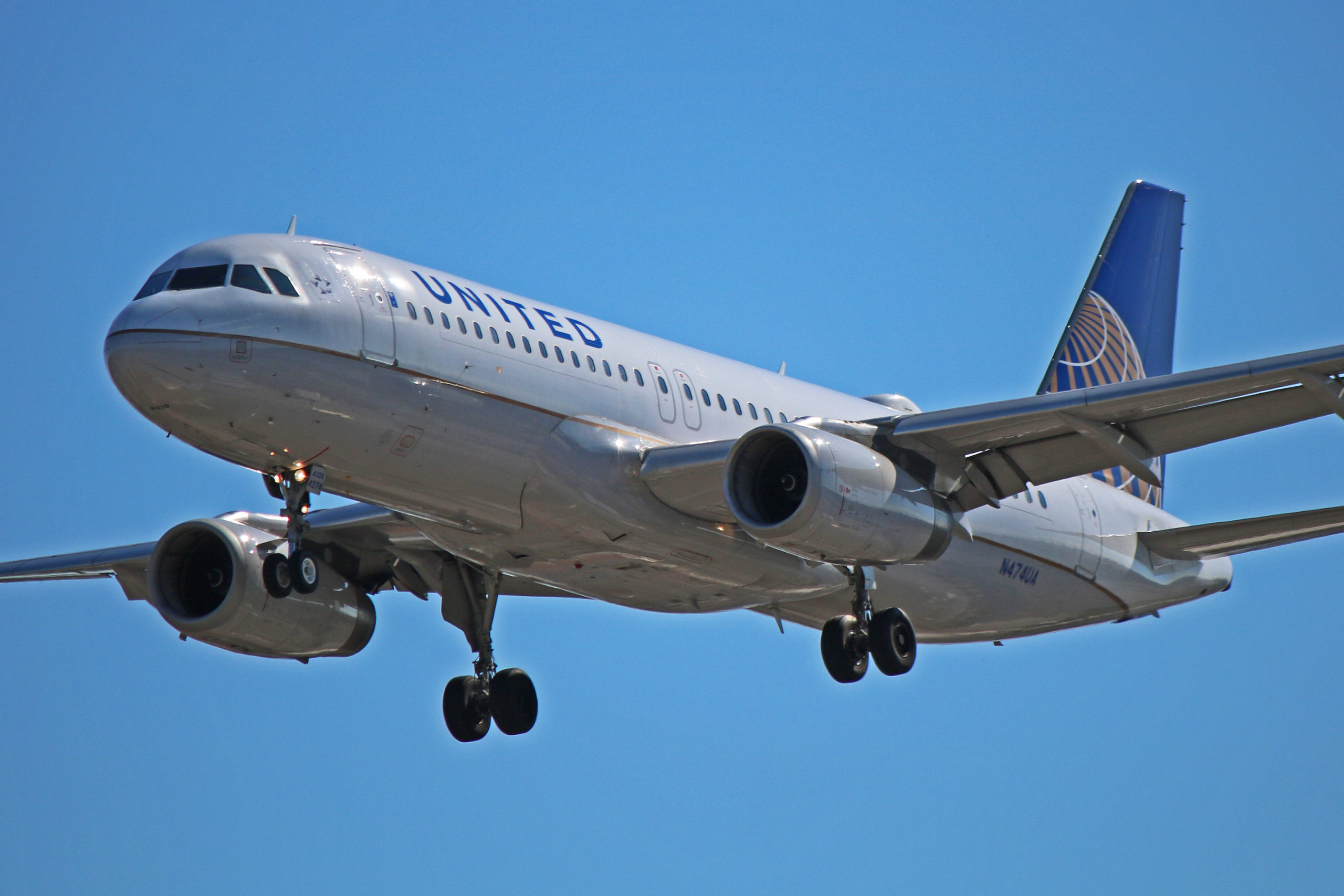 N474UA: United Airlines Airbus A320-200 (With Airline