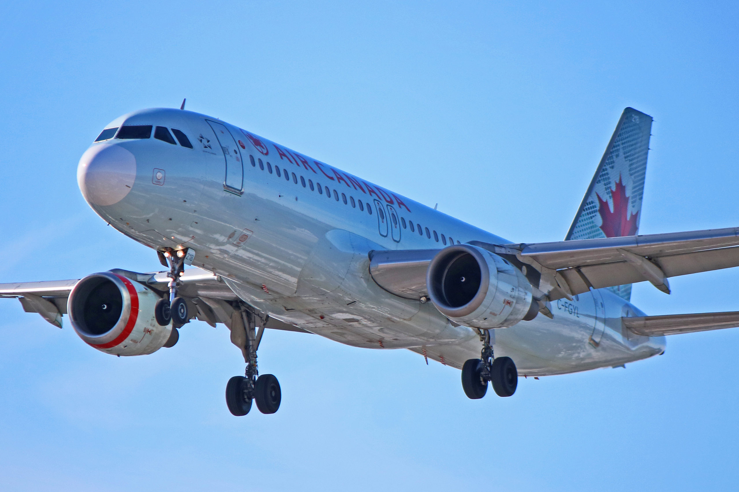 C-FGYL: Air Canada Airbus A320-200 (Nearing 30 Years In