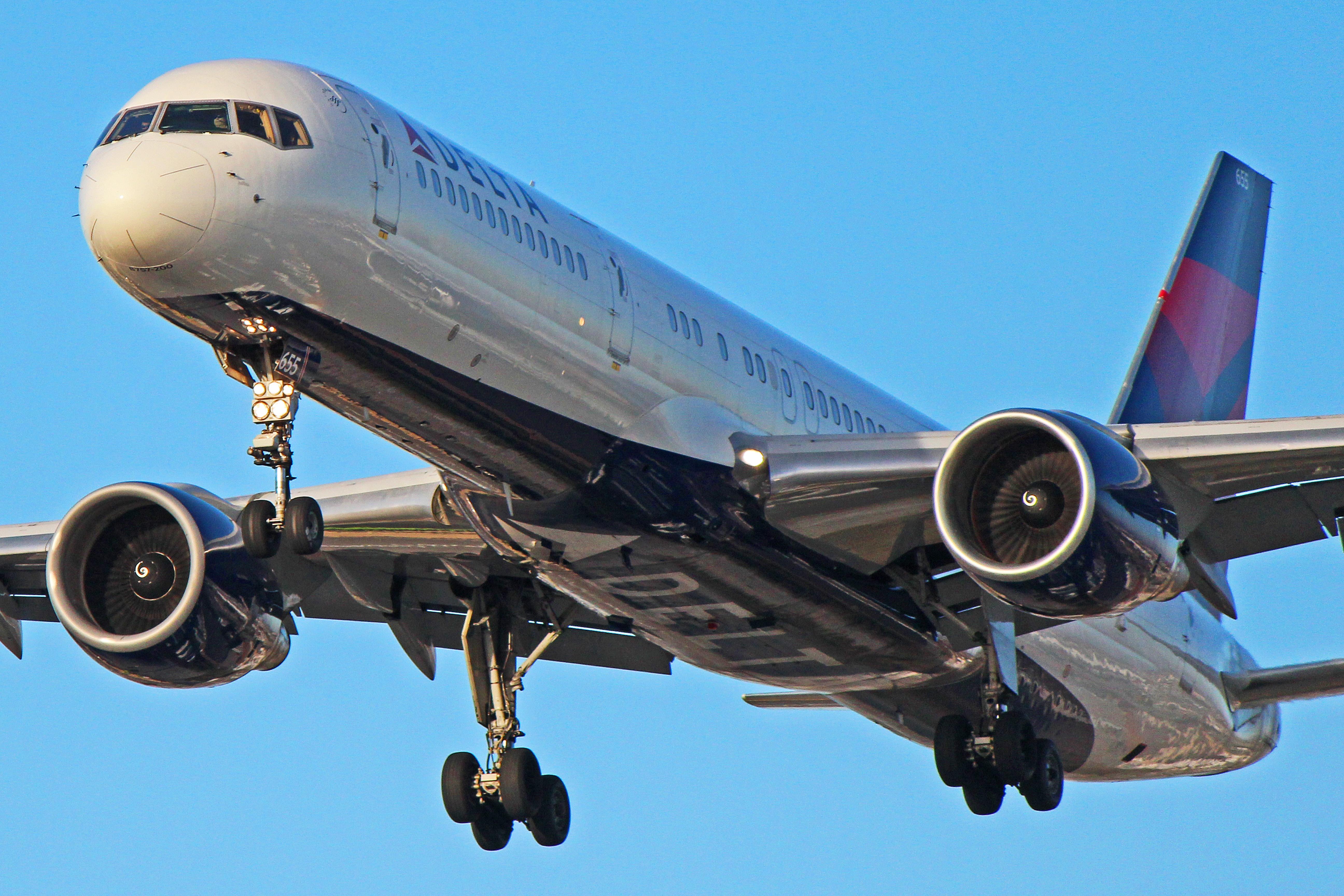 N655DL Delta Air Lines Boeing 757 200 1 Of 101 In Fleet